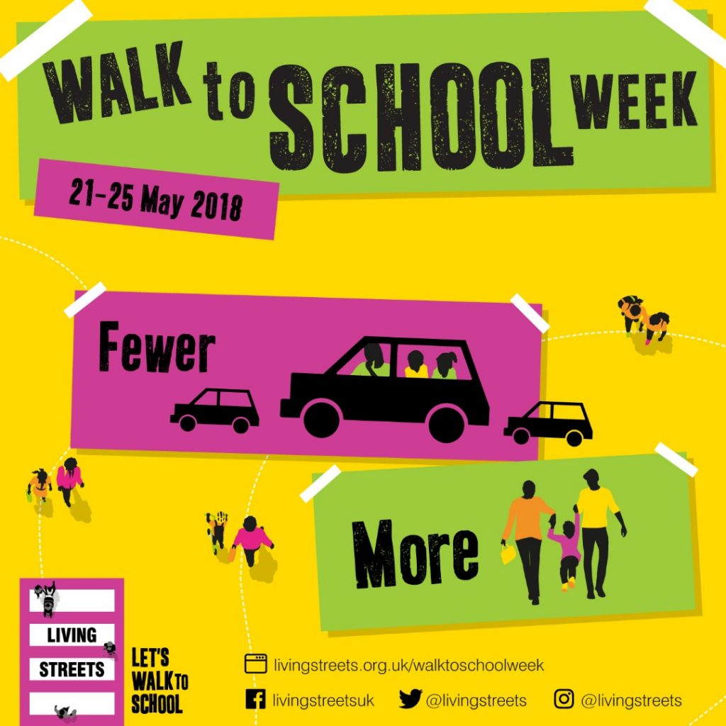Walk to School Week @ Birkby Infant & Nursery School | England | United Kingdom