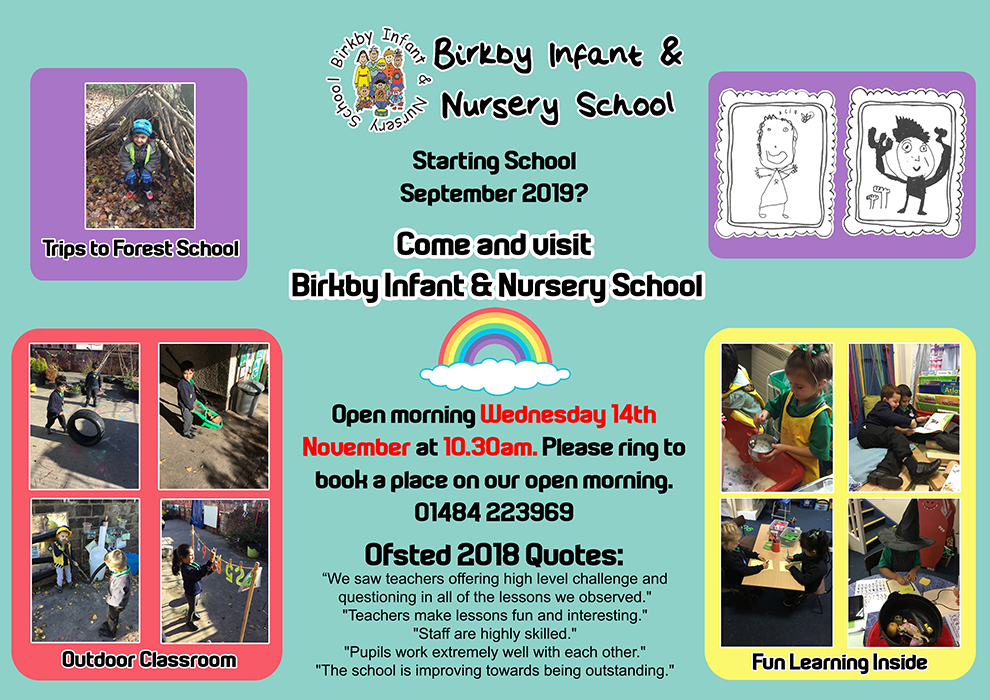 Open Morning @ Birkby Infant & Nursery School | England | United Kingdom