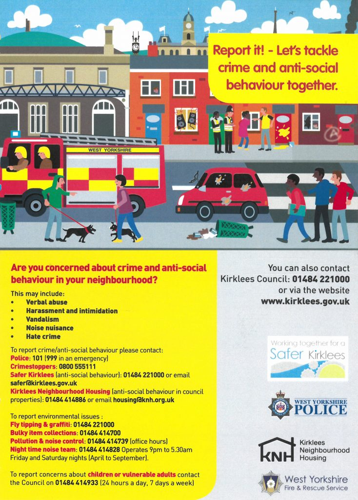 Anti-Social Behaviour Advice - Birkby Infant and Nursery School